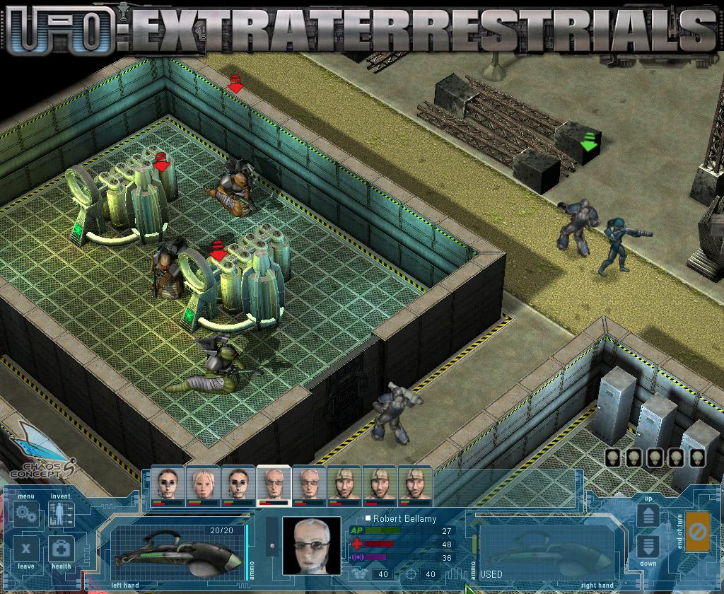 Название игры: ufo: extraterrestrials разработчик : chaos concept издатель : chaos concept жанр игры