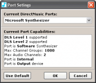 DMPlayer Port Selection