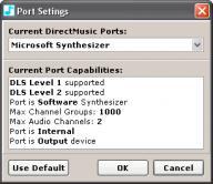 DMPlayer Port Selection